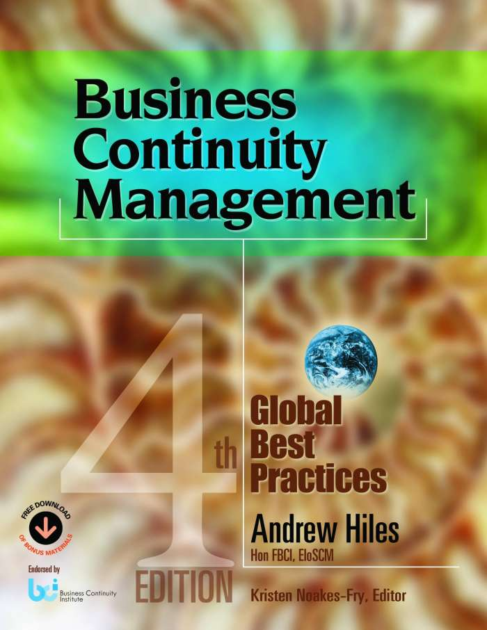 A Supply Chain Management Guide to Business Continuity, Chapter 8: Business Continuity Plan Documents