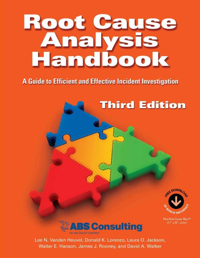 Root Cause Analysis Handbook: A Guide to Efficient and Effective Incident Investigation, 3rd Edition