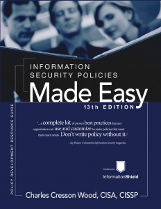 information-security-policies-made-easy-rothstein-publishing