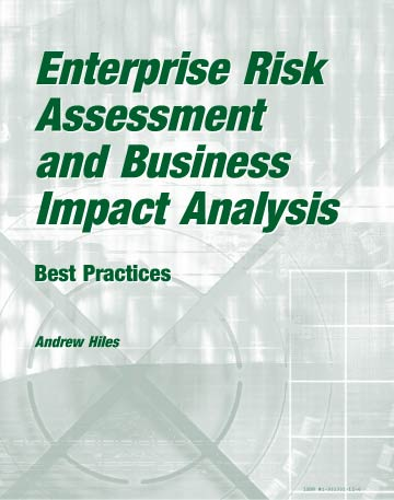 Enterprise Risk Assessment and Business Impact Analysis book