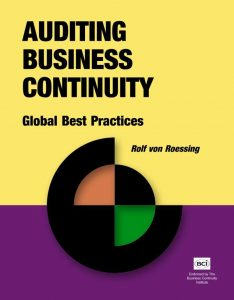 auditing-business-continuity-book-rothstein-publishing