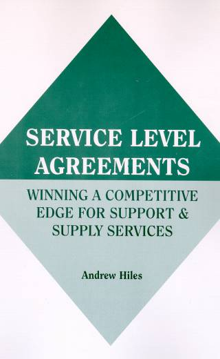 Service Level Agreements  Winning A Competitive Edge For Support & Supply Services