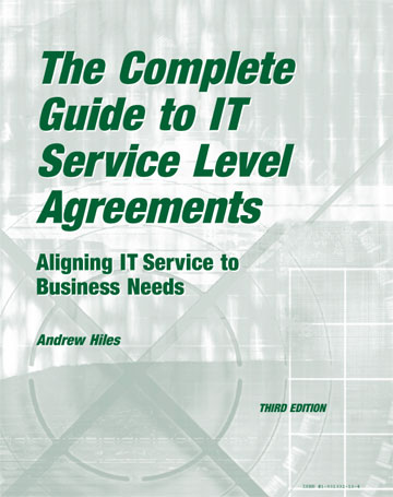 Complete Guide To IT Service Level Agreements: Aligning IT Service To  Business Needs