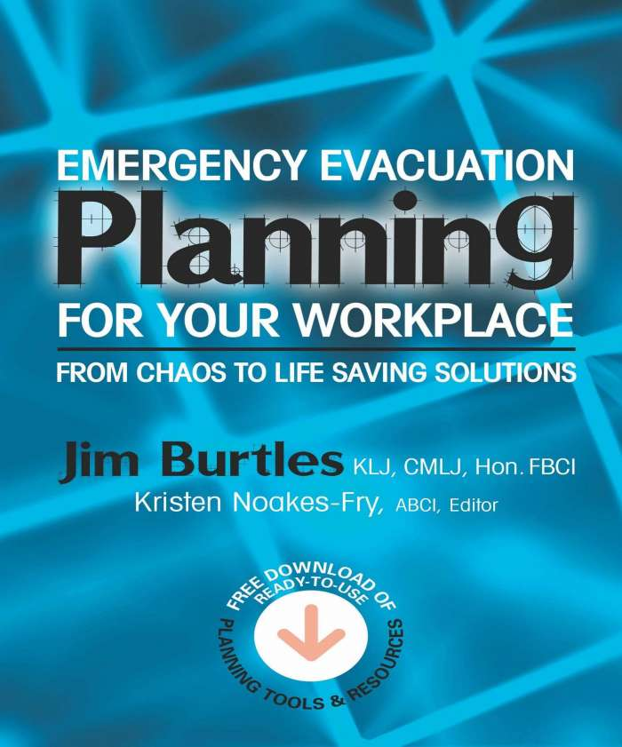 Emergency Evacuation Planning for Your Workplace Burtles 2017