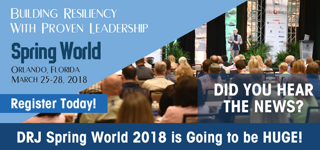 Register NOW for DRJ Spring World 2018