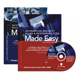 Information Security Policies Made Easy PLUS Roles, Responsibilities Made Easy: SPECIAL OFFER