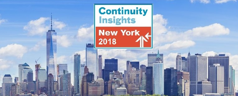 Full Program Announced for Continuity Insights' 2018 New York Conference