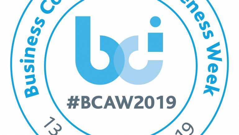 Business Continuity Awareness Week (BCAW) 2019