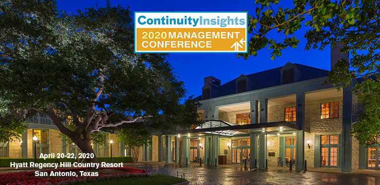Continuity Insights Management Conference 2020 Proposals
