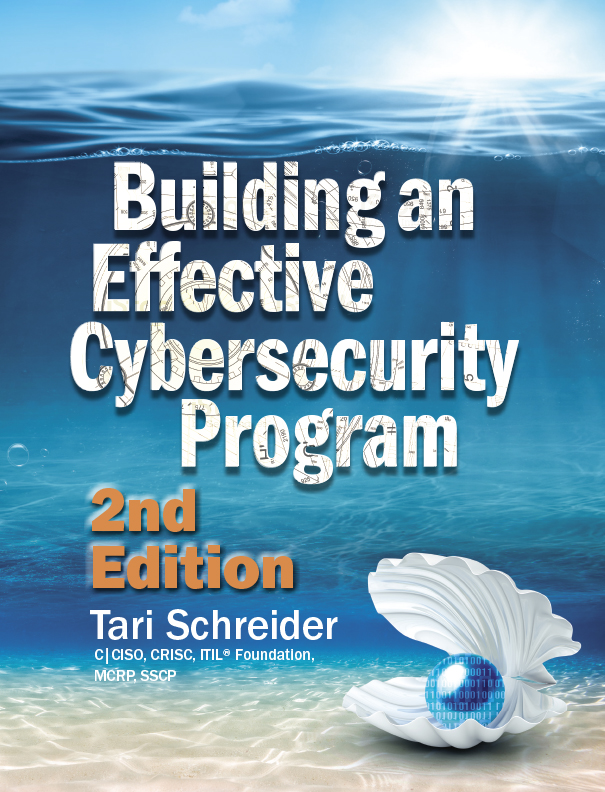 Build YOUR Cybersecurity Program: New Book by Tari Schreider