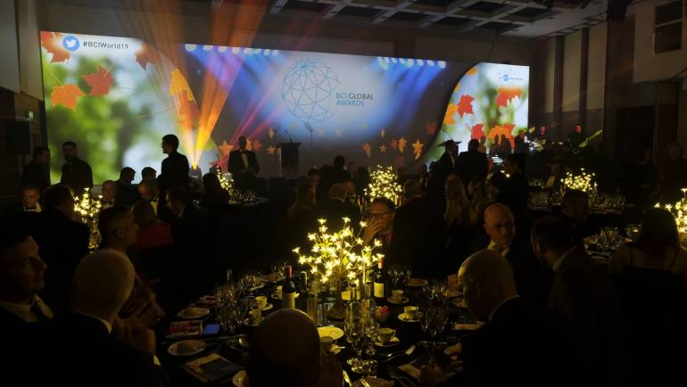 BCI Global Awards 2019 – Continuity and Resilience Winners Announced