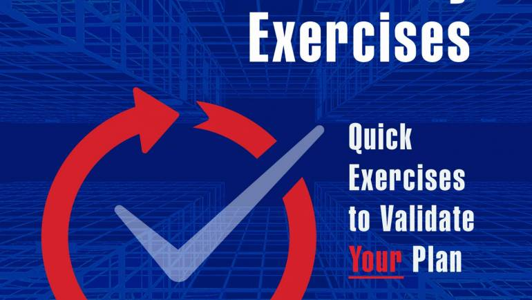 NEW BOOK: Business Continuity Exercises: Quick Exercises to Validate Your Plan