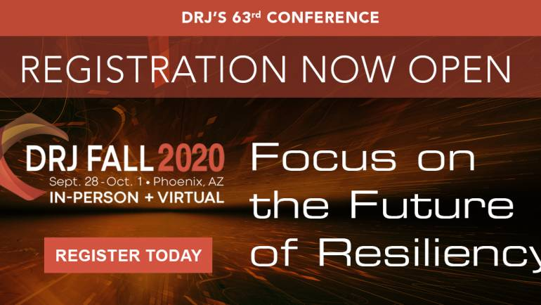 Disaster Recovery Journal launches virtual option for DRJ Fall 2020 'Focus on the Future of Resiliency'