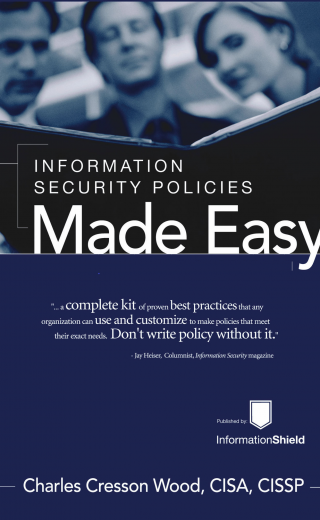 Information Security Policies Made Easy – NEW Version 14