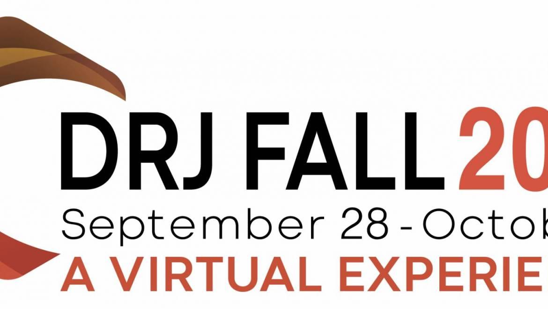 Register NOW for DRJ Fall 2020 Virtual Conference, September 28-October 1