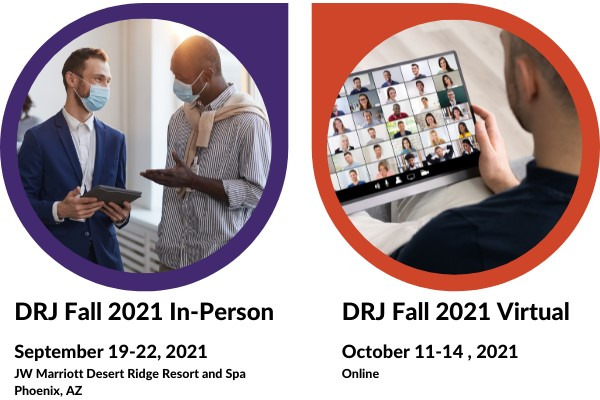 Getting Back to In-Person Events at DRJ Fall 2021